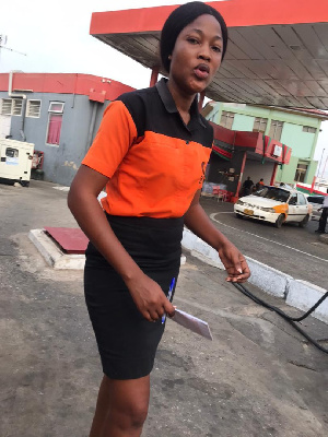 Eunice was hit by a stray bullet at Nima
