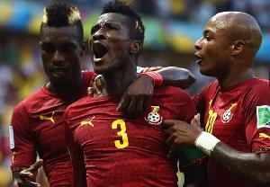 Asamoah Gyan is Ghana's all time top scorer