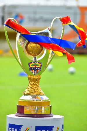 2020/2021 Ghana Premier League trophy