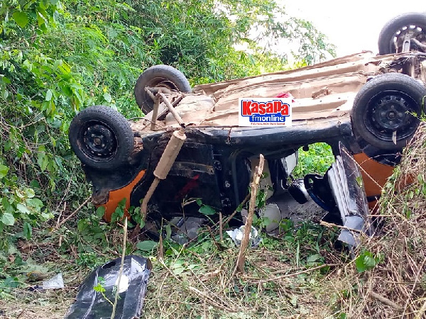 One person died instantly, while the other seven who sustained serious injuries