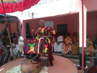 Okofo Katakyi Nyakoh Eku X, Omanhene of Nyakrom Traditional Council