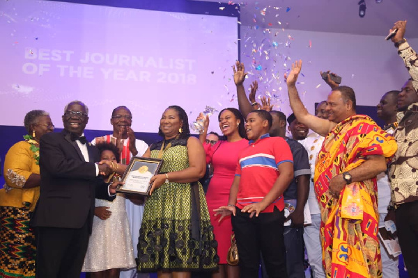 Doreen Hammond  wins 2018 GJA Journalist of the Year