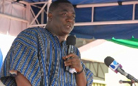 Nii Laryea Afotey Agbo, Greater Accra Regional Minister