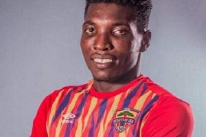 Accra Hearts of Oak midfielder, Benjamin Afutu