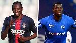 Nigerian strikers Paul Onuachu and Simy