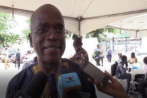 Chairman of the National Media Commission, Yaw Boadu Ayeboafoh