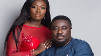 Stacy Amoateng and husband Quophi Okyeame