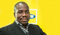 Mr Eric Nsarkoh, Sales and Distribution Executive of the leading MTN