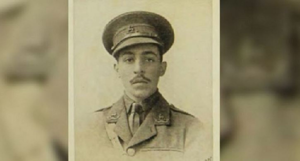 Euan Lucie-Smith was commissioned two years and eight months before Walter Tull