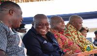 President Akufo-Addo with Dr Osei Kwame Despite