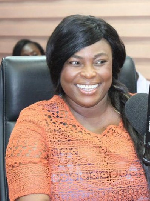 Madam Kate Addo, Acting Director of Public Affairs at Parliament says no MP has proposed to her