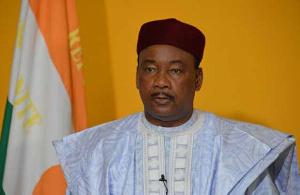 Niger's outgoing President Mahamadou Issoufou