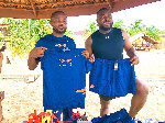 Sunset Sports Keta receives kits donations from US based Ishmael Kwawununu