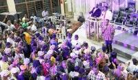 A Christian congregation. File photo