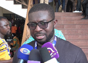 Nana Yaw Amponsah was a candidate for the Ghana FA presidential race