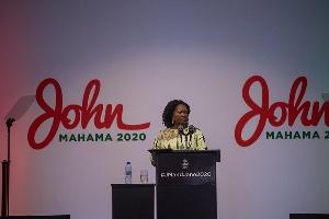 Prof. Naana Jane Opoku-Agyemang, NDC Vice Presidential Candidate