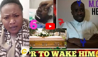 Obaapa Jacky accused the Evangelist of killing Anokye Supremo with his 'evil mouth'