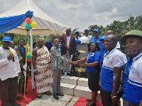 Surveyor Maame Ama Edumadze-Acquah (FGHIS), President, Ghana Institution of Surveyors (GhIS)