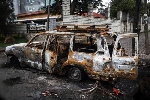 More than 160 people died in the unrest (AFP)