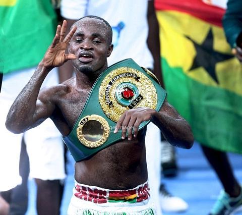 Former IBO Lightweight champion Emmanuel Tagoe