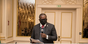 Charles Adu Boahen is Minister of State-designate for Finance
