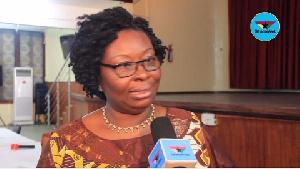 Executive Director for The Ark Foundation Dr. Mrs Angela Dwamena