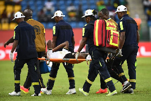 Why Ghanaian players suffer from knee and ankle injuries