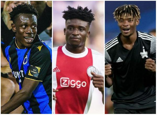 Ghana stars Kudus, Sowah, Addo ready UEFA Champions League action