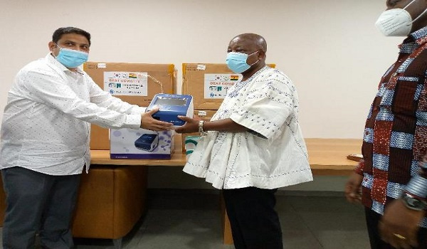 MOH receives Antigen test machines and kits for testing coronavirus