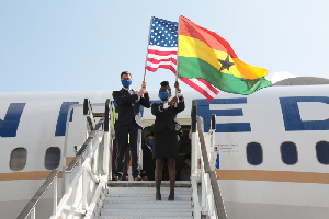 United Airlines restores its services to Ghana