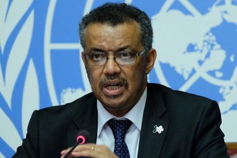 Director, World Health Organisation - Tedros Adhanom Ghebreyesus