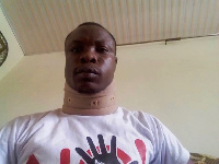 Joy News' reporter, Latif Iddrisu was beaten by police officers in the line of duty