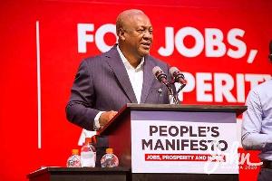 John Mahama, Manifesto2020