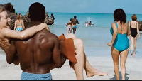 A scene from a movie on sex tourism