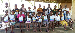 The beneficiaries received items to aid in personal hygiene