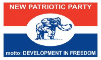 NPP Flag.    File photo.