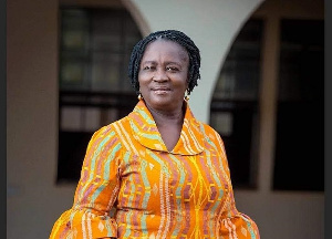 Jane Naana Opoku-Agyemang, running mate for the NDC flagbearer, John Dramani Mahama