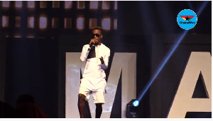 KK Fosu performed on Day One of the 2020 VGMAs