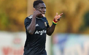 Black Stars winger Samuel Owusu