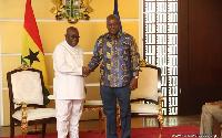 President Akufo-Addo and Former President John Mahama