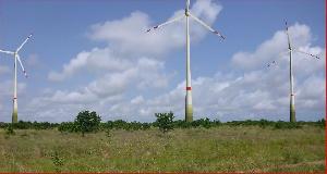 Wind powered farms