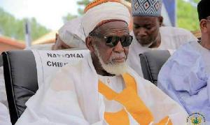 National Chief Imam, Dr. Sheikh Osman Sharubutu