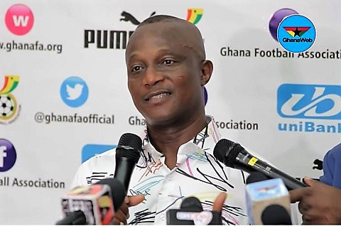 Kwesi Appiah hints at needing more time to make Black Stars better