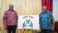 President Akufo-Addo and Veep Bawumia