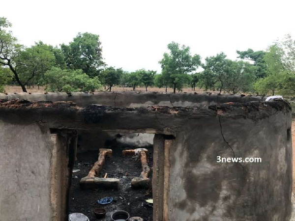 Angry youth burn Fulani houses over alleged robberies