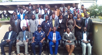 Group photo with participants