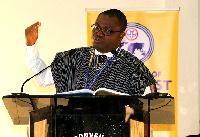 Pastor Samuel Gakpetor.