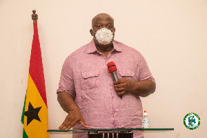 Mr Henry Quartey, the Greater Accra Regional Minister
