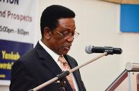 Professor Kwesi Yankah, Minister in charge of Tertiary education