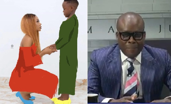 Court must summon the father of Akuapem Poloo's son – Adom-Otchere charges